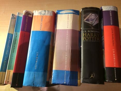 Harry Potter books all 7